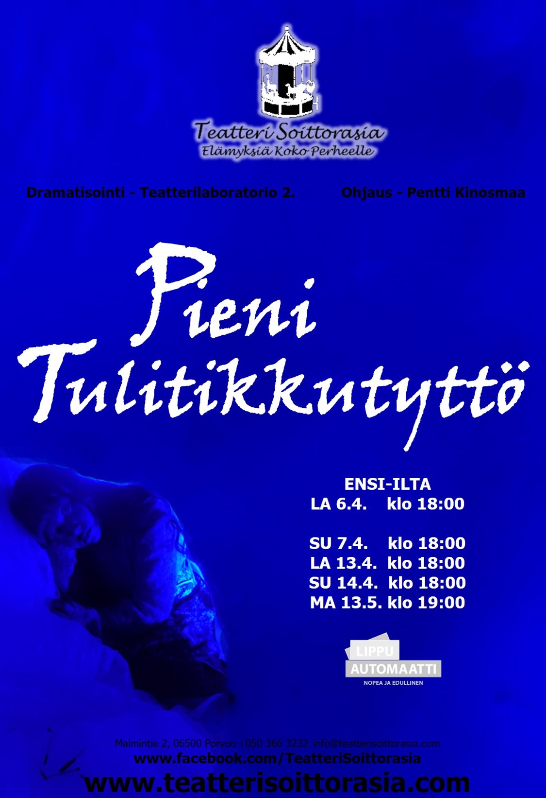 JULISTE PieniTulitikkutyttö2019