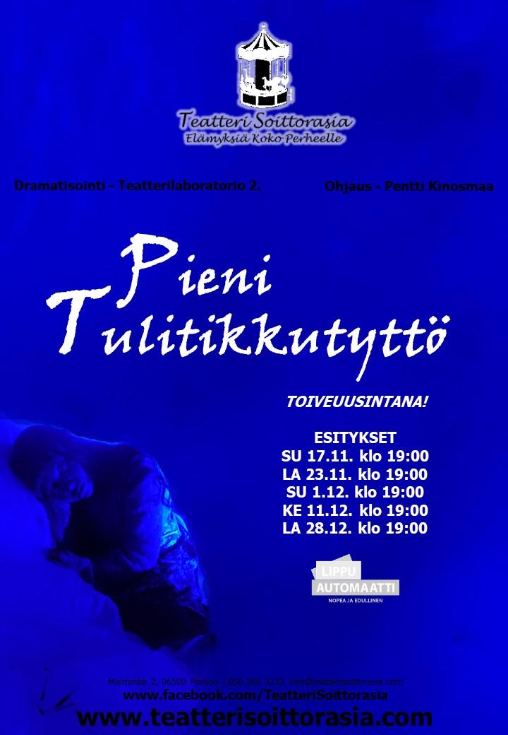 JULISTE Tulitikkutyttö2019Syksy